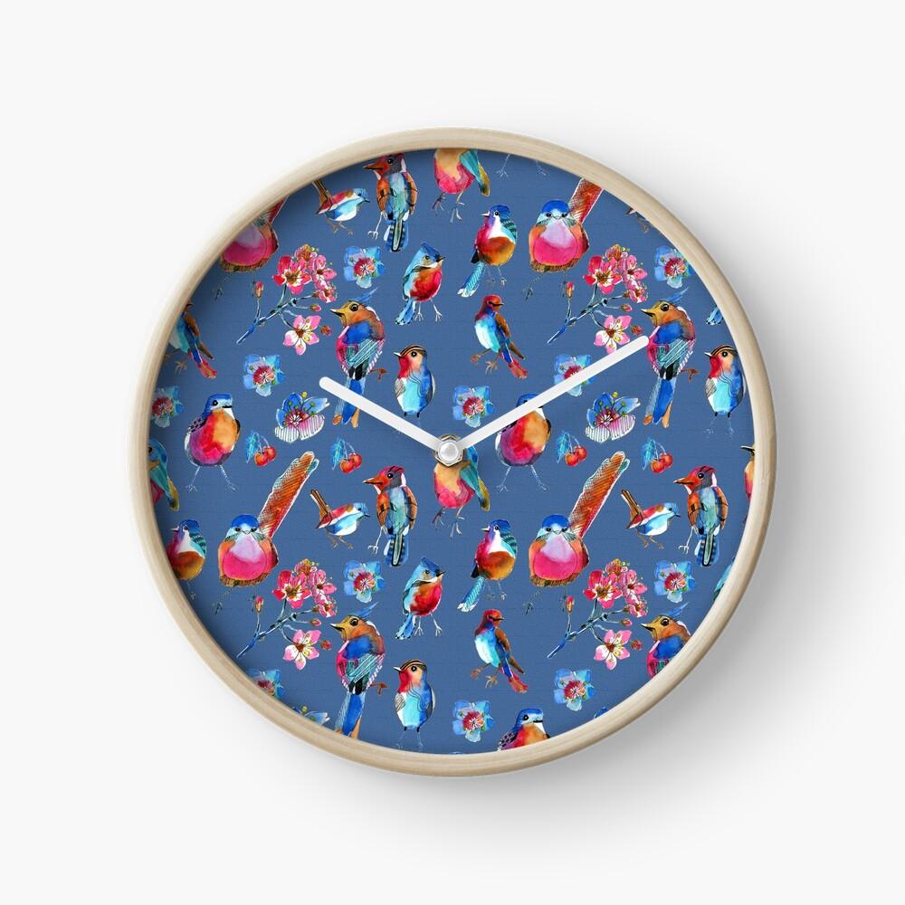 Horloge, design Caroline Angelard